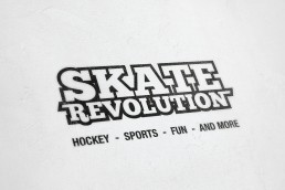 Logodesign Skate Revolution, Corporate Design