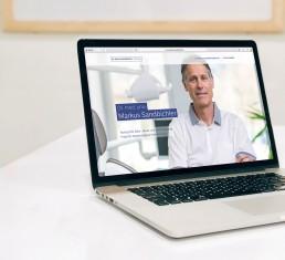 Dr. Markus Sandbichler - Website erstellen
