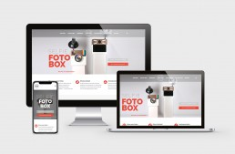 Webdesign / Corporate Design fotobox.tirol