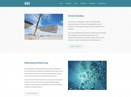 Schwimmbadbau SST Saurwein Schwimmbad Technik Website