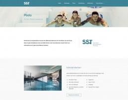 Pools bei SST Saurwein Schwimmbad Technik Website