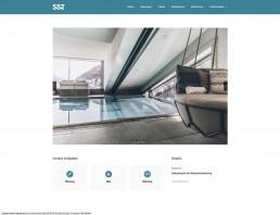 Referenzen SST Saurwein Schwimmbad Technik Website