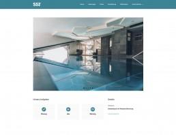 Referenz SST Saurwein Schwimmbad Technik Website