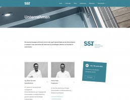 Über SST Saurwein Schwimmbad Technik Website