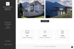 Webdesign Tirol - Architekt Kurz