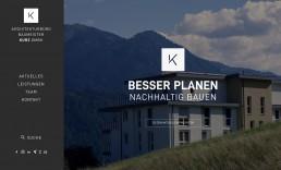 Responsive Webdesign Tirol - Architekt Kurz