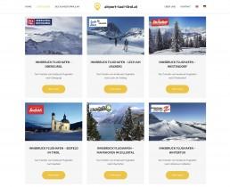 Webdesign Tirol - Taxi Website