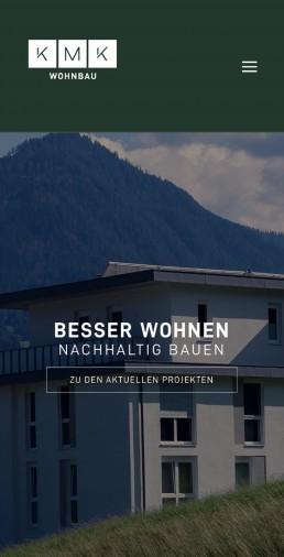 KMK Wohnbau Homepage