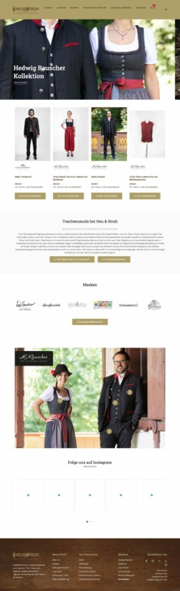 Heu & Stroh Innsbruck - Trachtenmode Rauscher - Webshop Online Shop