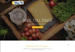 Käse Tollinger DEZ Webshop Online Shop - E-Commerce